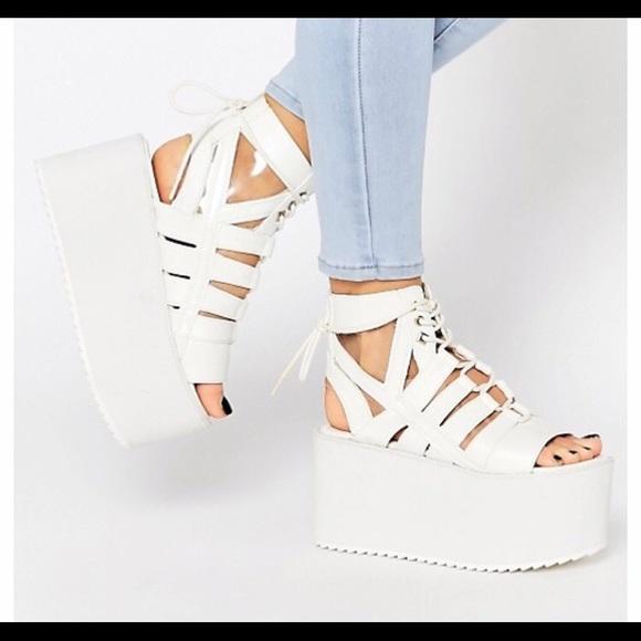YRU Shoes - YRU Medusa sandal platforms size 10